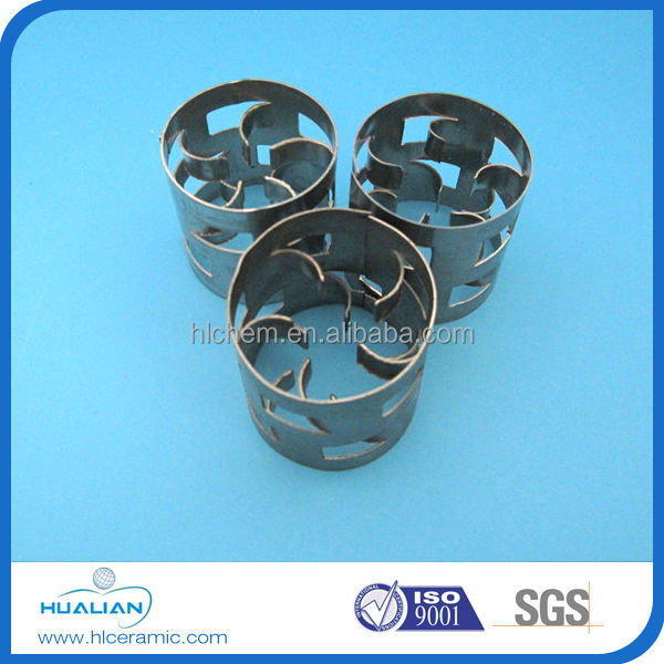 metallic packing pall ring for petrochemical industry