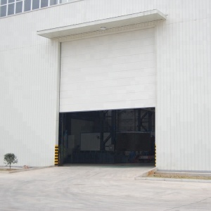 China supplier steel sectional industrial door for warehouse