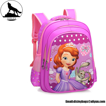 f730630996 2018 new style free sample cheap low price kindergarten cartoon character  3d girls schoolbag backpacks school
