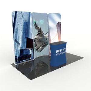 Custom Design exhibition booth Portable trade show booth 10x10 display stand
