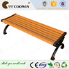 wood garden bench exported to South America area