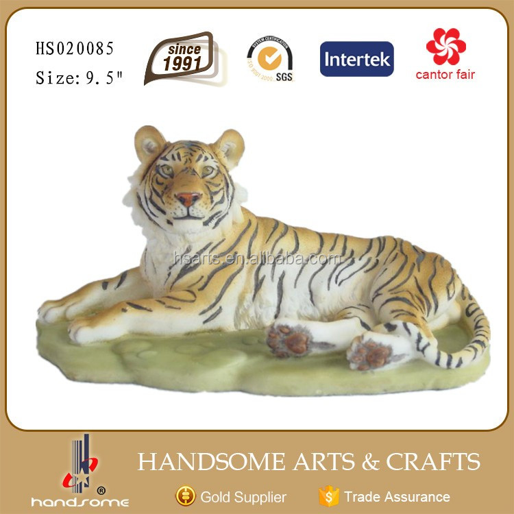 Tiger statue plate tiger statue fruit holder tiger statue