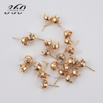 stud these organic gold pin round earrings solid with their naturally