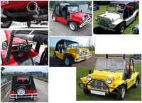 Classic Off-road Vehicle Beach Buggy Cars Morris Mini Moke For ...
