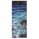 wholesale custom print sublimation waffle printing microfiber beach towel with tropical pattern bag