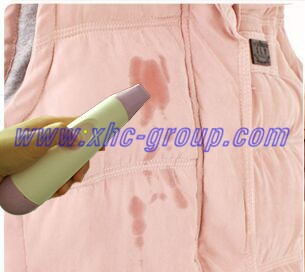 Ultrasonic stain away for clothing