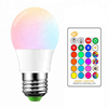 Indoor Decoration Remote Control 3W E27 RGB SMD LED Christmas led bulb lighting rgb rechargeable led bulb