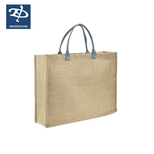 Cheap 100% Natural Plain Prices Of Personalized Durable Jute Tote Bag Wholesale