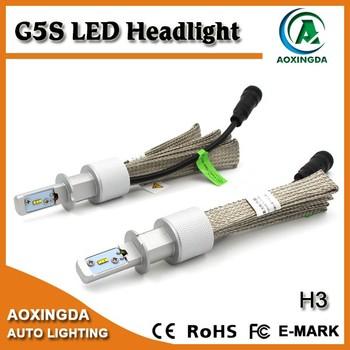 24v 8000 Lumen Led Headlight Bulb H3 H1 No Fan With Flexible Copper  Heatsink - Buy Led Headlight Bulb H3,Led Bulb H3,Led H3 Product on  Alibaba com