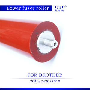 Top quality reasonable price lower fuser roller compatible for Brother 2040  7420 7010 7020 2820 2050 laser printer pressure roll