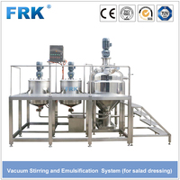 Solution Preparation Tank Soup Soya Bean Oil Spray Steel Can Static Mixer Soap Making Machine Price