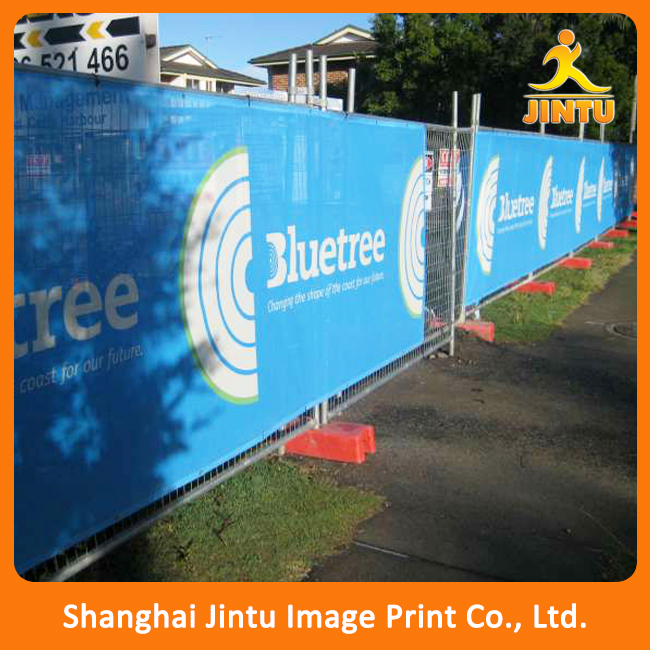 High quality building mesh banner, polyester mesh banner printing