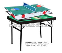 "36"" Promotional Mini Football/Pool/Hockey 3 in 1 Multi Game Table"
