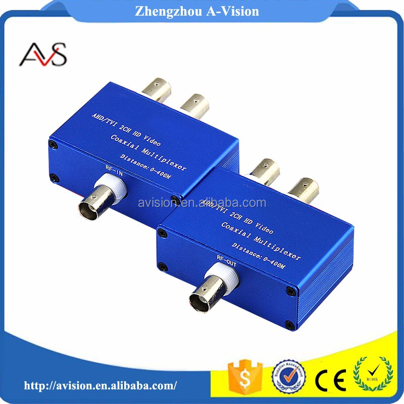2ch AHD TVI Analog video transmitter and receiver