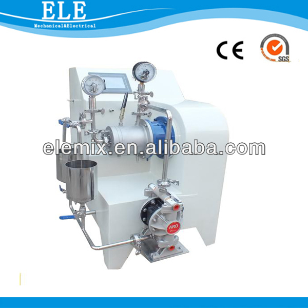 High fine small paint lab grinding mill/lab mill