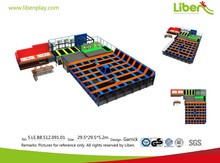 Durable high quality large size outdoor gymnastic trampoline