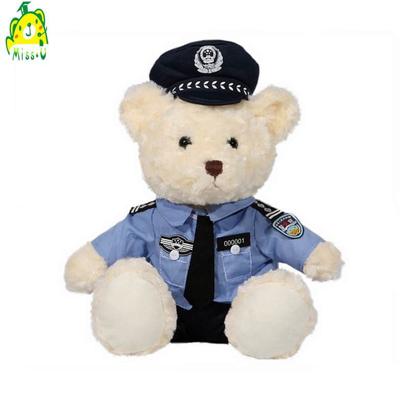 Police Bear Plush & Stuffed Toy Bear Factory