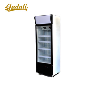Single Door Display Fridge commercial Used Beverage display Refrigerator Showcase Freezer