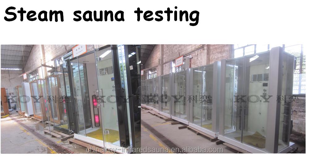 New Infrared Sauna Steam Shower Room Combination K083