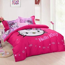 hello kitty kids one piece bed set