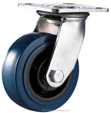 150 Mm High Load Capacity Heavy Duty Swivel PU Caster Wheels