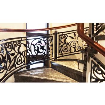 Galvanized Aluminium Carved Indoor Modern Railing Design