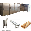 Rolled Sugar Cone Baking Maker Ice Cream Cone Making Machine for Sale