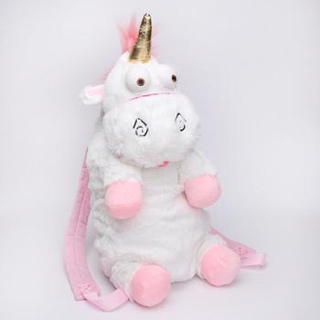 New Plush White Unicorn School Backpack Kids Unicorn Backpack Buy