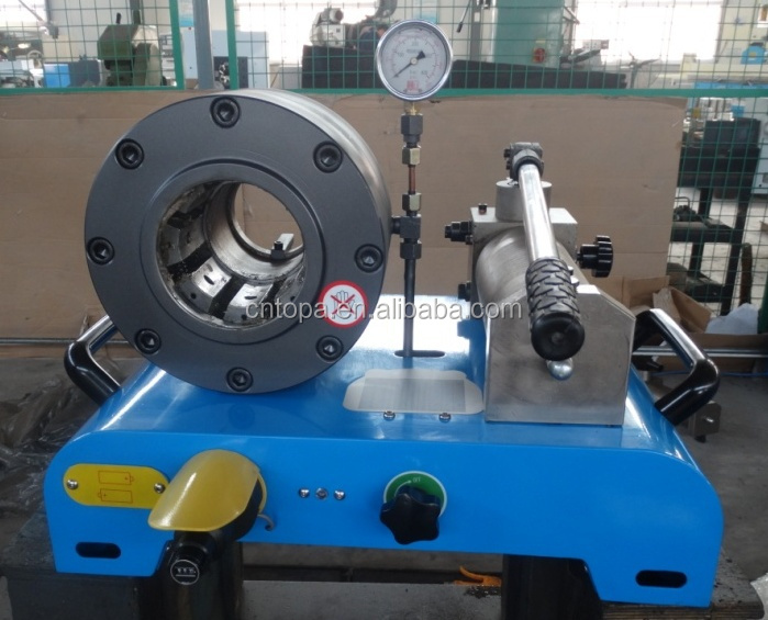 2'' high pressure industial hydraulic hose fitting crimping machine