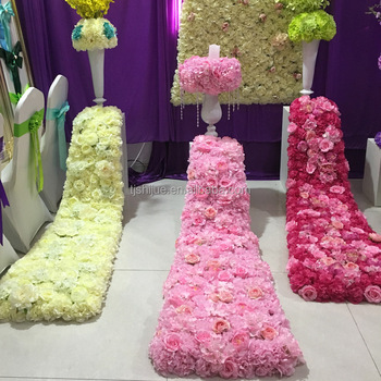 Artificial Flower Wedding Background Decorative Props View Gartificial Flower Garland Ss If026 Product Details From Tianjin Super Star Technology