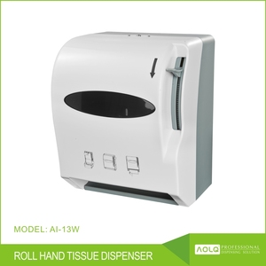 abs plastic wall mounted lever-actioned paper towel dispenser, hand tissue dispenser