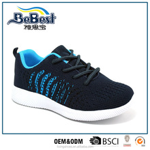 2017 new style best quality flyknit sport shoes boy sneakers