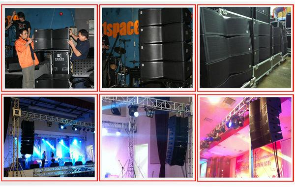 Cvr Pro Audio Line Array Edison Professional Speaker