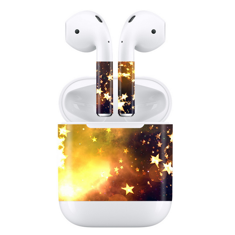 Hot Sale Protective Vinyl Skin Decal Custom Graphics Wrap for AirPods Authentic 3M Self Adhesive Sticker