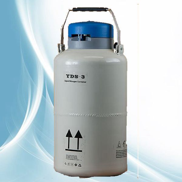 Alto vac o aislamiento multicapa peque o cilindro de for Nitrogeno liquido para cocinar