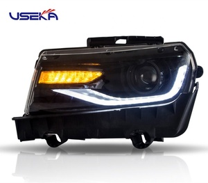 Hot Sales and Excellent Manufacturer Car auto parts New Style Left and Right Headlight For Chevrolet camaro 2014-2015