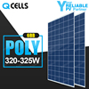 Top brand Hanwha Q-cells solar panel korea 320w 325w solar panel price with TUV CE certification