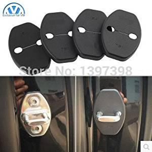 Trudged(TM) For volkswagen VW JETTA MAGOTAN CC GOLF POLO GOLF 6 passat B4 B6 Lavida Sagitar Bora skoda Fabia Superb Car Door Lock cover
