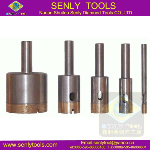 high performance power tool stone quarrying diamond core drill bit