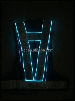 El Lighting Safety Vest,Clothing El Wire - Buy Led Lighted Safety ...