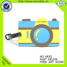Fashion 3D camera bulk luggage tag wholesale