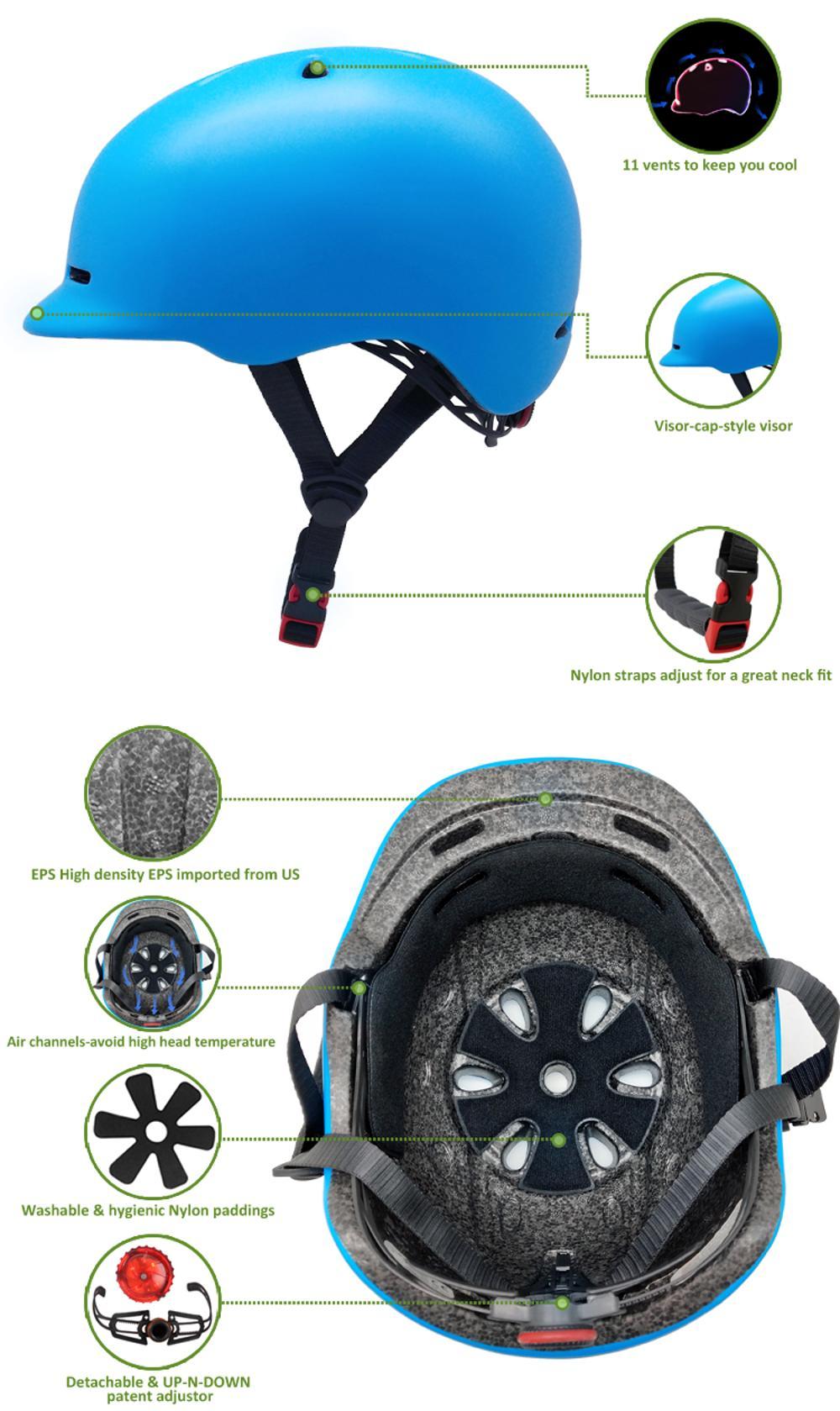 High Quality helmet for E-scooter 7
