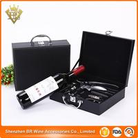 Wine Bottle Opener Accessory Kit with Durable & Ergonomic Lever Handle