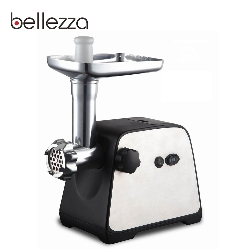 2000 power stainless steel electric chopper motor industrial meat grinder