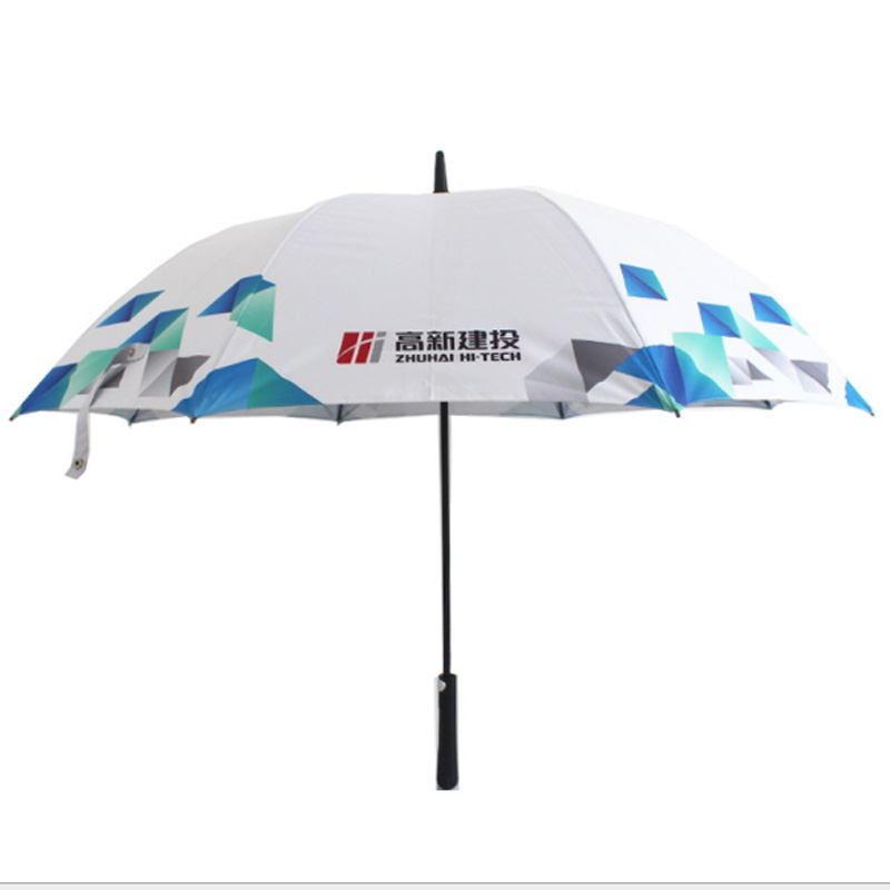 2018 Hot Selling Customized Cheap Rain Umbrella Custom Promotional Golf Umbrella with protective sleeve