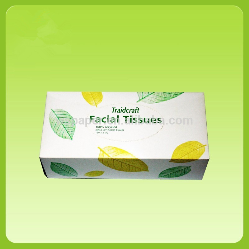 Wholesale 100% Virgin Wood Pulp 3 Ply Soft Box Facial Tissue