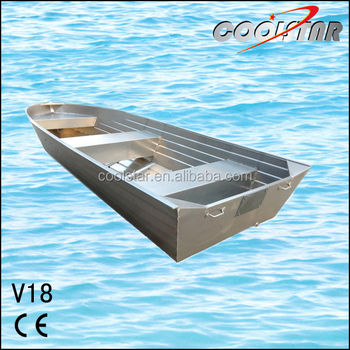 Have hit Flat bottom aluminum fishing boats