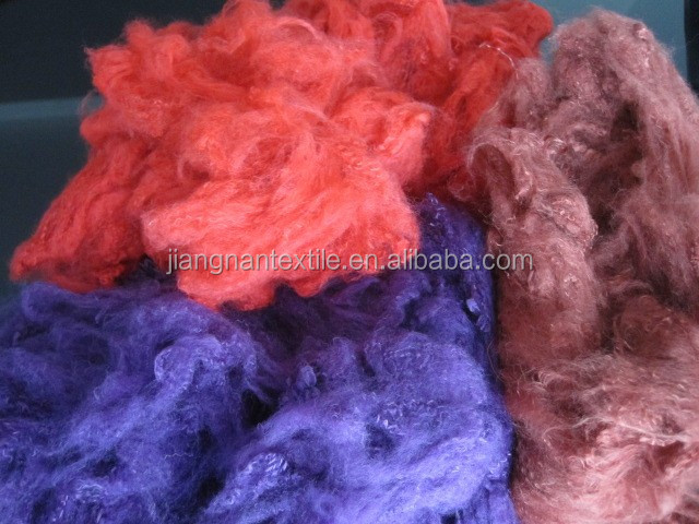 Manufacturer & Exporter of Polyester Staple Fibre & Low Melt Fibre.