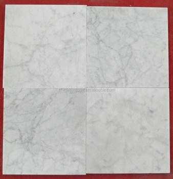 Moderne Carrara Weiss Kuche Marmor Geschliffen Oder Poliert Fliesen