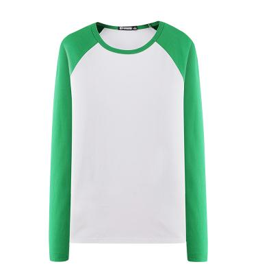 high quality men's 100% cotton plain long sleeve t-shirt bamboo clothing blank golf tee shirt oversize china suppliers